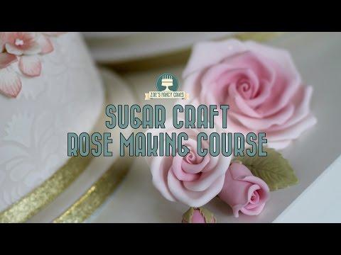 Premium tutorial: How to make sugar craft roses EXCLUSIVE DISCOUNT