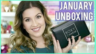 BOXYCHARM UNBOXING l JANUARY 2017