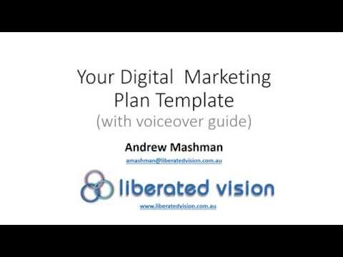 Digital Marketing Plan Template 10 2015