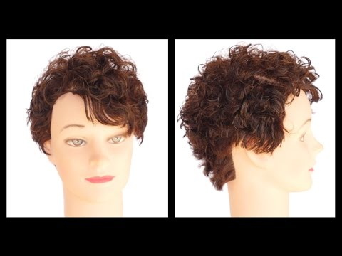 Curly Hair Pixie - TheSalonGuy
