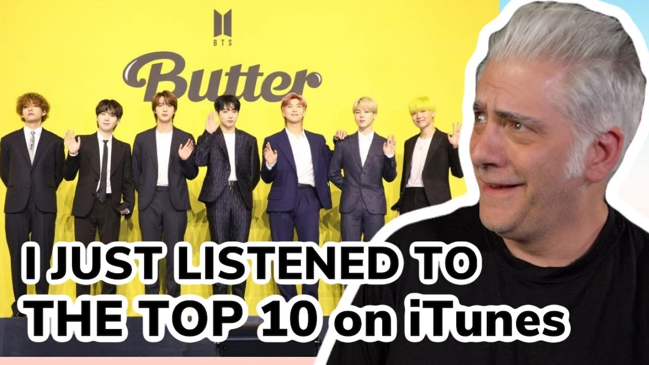 Reacting to the Top 10 Songs on iTunes...BTS WTF?