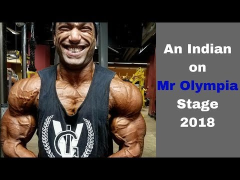 I will be on Mr Olympia 2018 stage, Promise to all Indians: Amit Roy