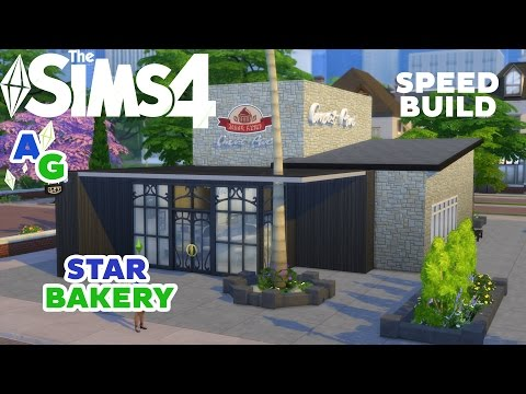 The Sims 4 Get to work - Retail Building - StarBakery