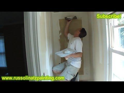 DIY Skim Coat Wallpaper & Painting Walls (Part 3) -Drywall Repair & Wall Preparation