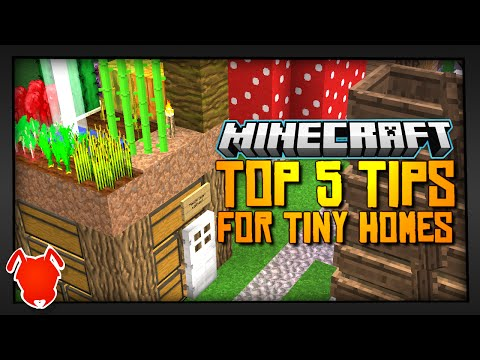 MORE TINY HOMES in MINECRAFT?