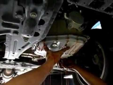 Toyota Wish Change CVT Auto Transmission Fluid