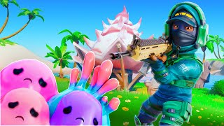 I ROBBED THE PET BLOBS IN FORTNITE