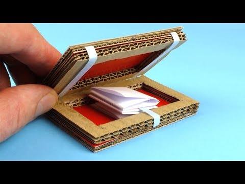 How To Make Magic Box Out of Cardboard,Awesome trick !