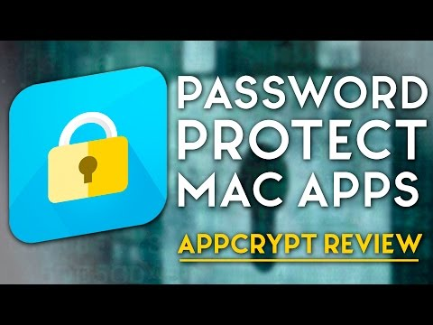 How to Password Protect Mac Apps - Appcrypt Overview
