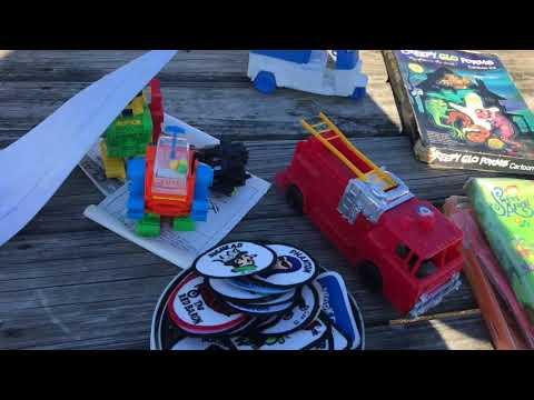 Flea Market Adventures Episode 1: WWF LJN Ring AWA Ring Video Games Toys & More