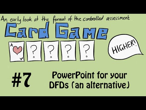 7  PowerPoint for your DFDs an alternative
