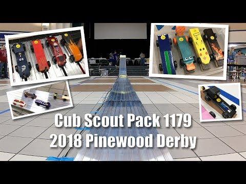 Cub Scout Pack 1179 - Pinewood Derby Day 2018