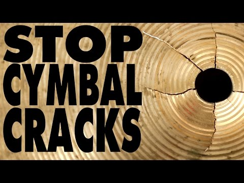 How To Prevent Your Cymbals From Cracking