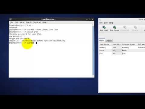 Lock Unlock Users in Linux