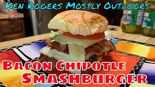 Bacon Chipotle Smashburger   Cuisinart 360° Griddle Cooking Center