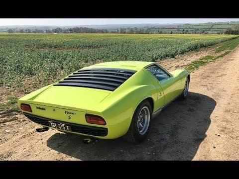 Lamborghini Miura history and driving review