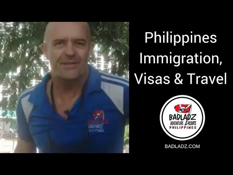 Philippine Immigration, Visa's, and Travel