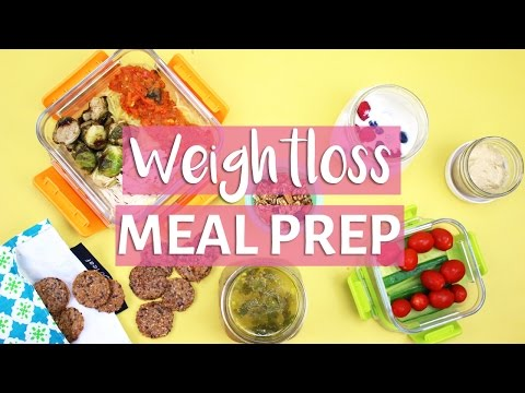 EASY MEAL PREP WITH ME! | Healthy Meal Prep for Weight Loss