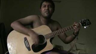 acoustic cover of Hindi pop song from Silkroute - dooba dooba.