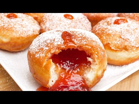 Sufganiyot Recipe for Hannukah - In A Bag
