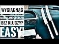Jak wyciągnąć radio samochodowe bez kluczy?