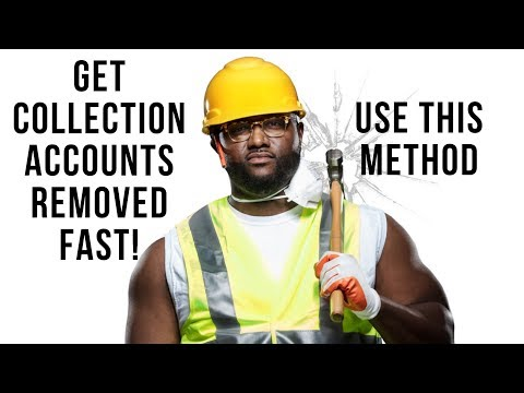 How to remove collections from your credit report | Statute of limitations | Collections Deleted!