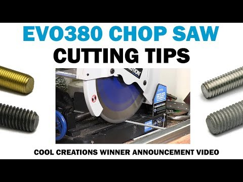 EVO380 Chop Saw & Tips For Cutting Threaded Rod | Cool Creations Winner | Fasteners 101