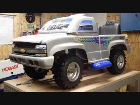 110cc Chevy Silverado Powerwheels Build