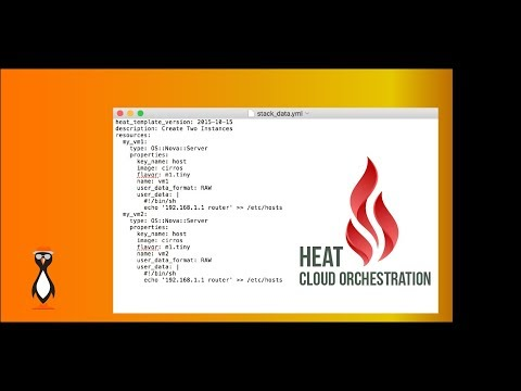 OpenStack Simple HEAT Template