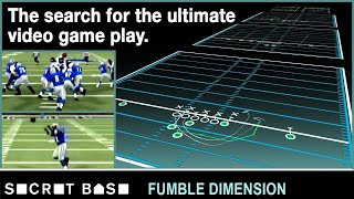 The quest for the ultimate NFL play, Part 1 | Fumble Dimension
