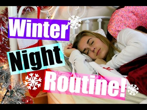 Winter Break Night Routine + HUGE Holiday Giveaway!