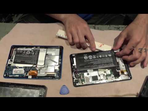 How to replace a tablet battery