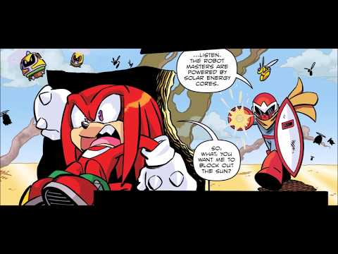 Worlds Unite Battles Comic Drama - Knuckles vs Break Man [3,000 Subscriber Special]