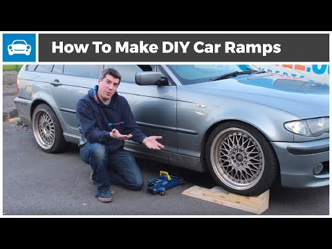 How To Make Your Own Car Ramps For £/€10- MicksGarage.Com