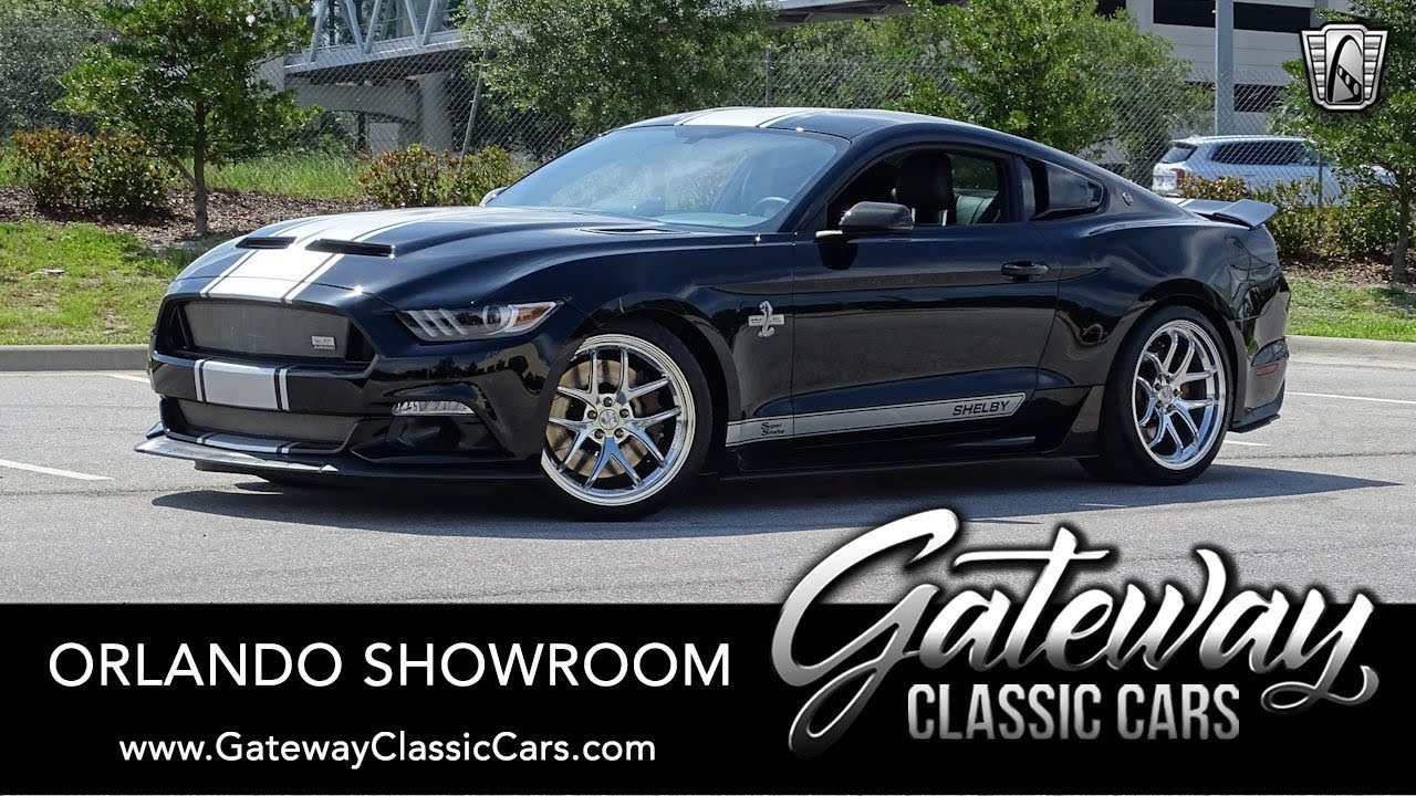 2017 Ford Mustang Shelby Super Snake Gateway Classic Cars Orlando #1701