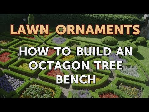 How to Build an Octagon Tree Bench