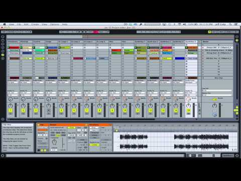 Ableton LIVE Tutorial - Altering a song's countoff length (session view)
