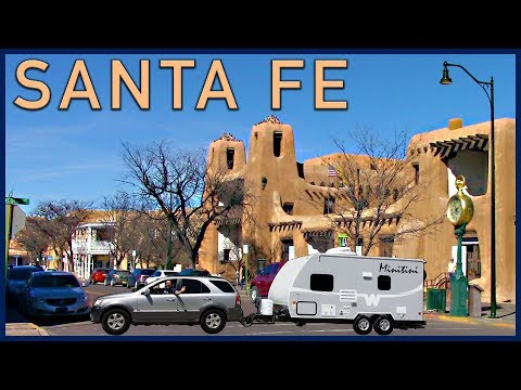 Day trip to Santa Fe, New Mexico, and a Epic Fail in the Mountains