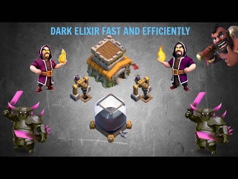 Clash of Clans HOW TO GET DARK ELIXIR FAST AT TH8 | WHAT TO DO WITH ELXIR AT TH8