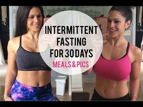 My Results Intermittent Fasting for 30 Days || Why, Meals & Pics