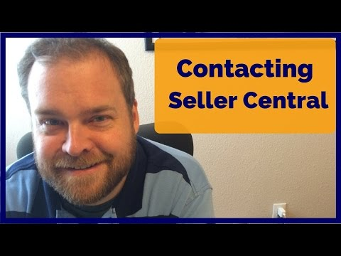 Contacting Seller Central for Amazon FBA