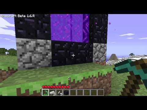 Minecraft: How to make a Nether Portal