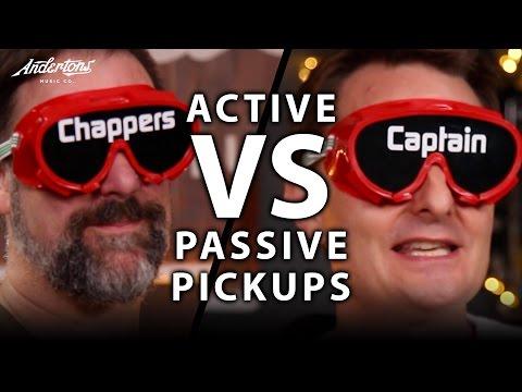 Active Pickups vs Passive Pickups - The Blindfold Challenge!!