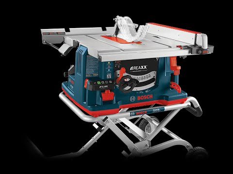 Bosch REAXX Table Saw - Power Issue UPDATE