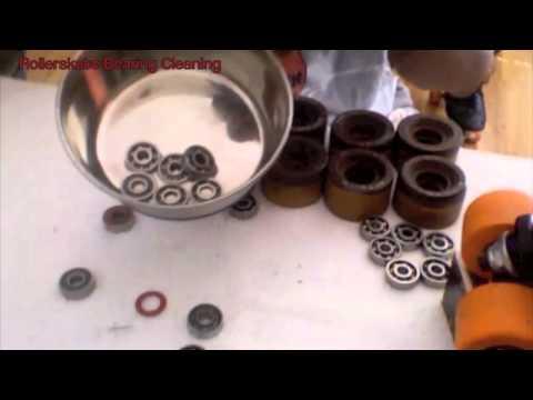Bearing Cleaning- skate maintenance