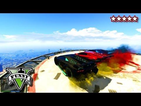 GTA 5 Online NEW DLC CARS | GTA Custom Car Destruction