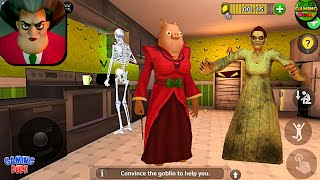 Scary Teacher 3D - New Magic Wand Level Halloween Update   Android Gameplay HD