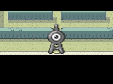 How to find Unown in Pokemon Fire Red and Leaf Green