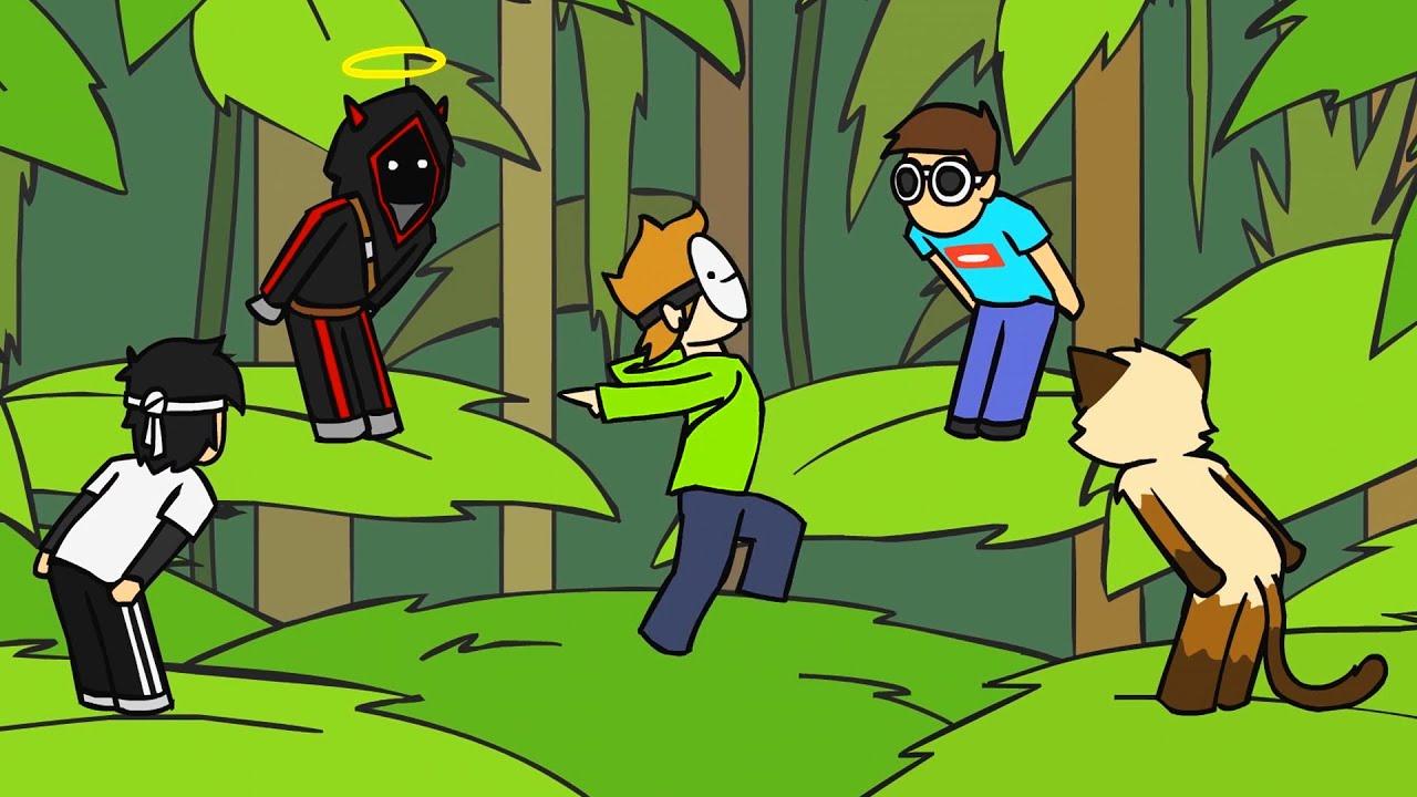 Dream's Grand Finale Manhunt in 135 Seconds (Animation)