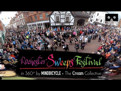 Rochester Sweeps Festival Parade 2017 -  in VR 360º Video